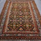 Exquisite Tribal Hand Knotted 100% Wool Oriental Rug Hand-Washed  7.7 x 11