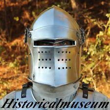 Historial SUGARLOAF Battle Armor Replica Medieval Helmet SABU SCA FREE SHIPPING
