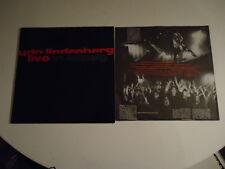 Udo Lindenberg – Live In Leipzig + Poster - Vinyl LP