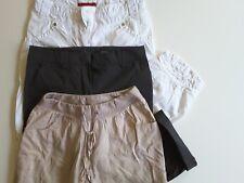 H&M Damen Bekleidungspaket Sommer Capri Hosen Gr. 34  M