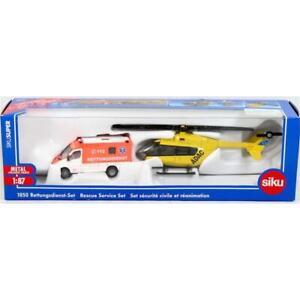 Siku 1850 1/87 Rescue Service Set* Brand New