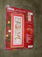 Janlynn Kit - Christmas Cross Stitch - CHRISTMAS LOVE BEGINS at HOME - (SEALED)