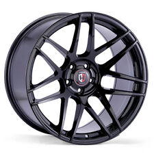 18x8.5 5x120 CURVA C300 GLOSS BLACK MADE FOR BMW CAMARO PONITAC