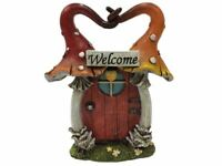 Woodland Welcome Toadstools Fairy Door Mushroom Pixie Garden Ornament