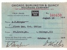 Collectible Railroad Passes & Tickets