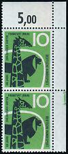 Bund BRD Formnummer Mi.Nr. 288 F II postfrisch Mi.Wert 80€ (5696)