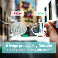 1/5Pcs Reusable Anti-Fog Glasses Cloth Antifog Lens Cloth Defogger Wholesale