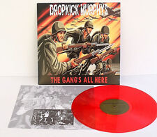 DROPKICK MURPHYS the gang's all here Lp RED Vinyl Record