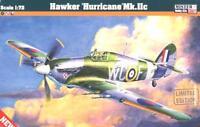 HAWKER HURRICANE Mk.IIc (II c) MODEL KIT (RAF & POLISH MKGS) 1/72 MISTERCRAFT