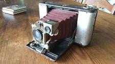 Antique Camera Eastman Kodak No. 3 Folding Hawkeye Model 8 Red Bellows