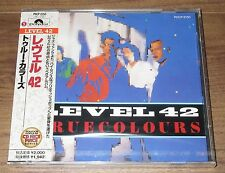 Japan PROMO issue CD! Still SEALED! LEVEL 42 more listed OBI True Colours