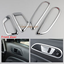 4Pcs Inner Front Door Handle Bowl Trim Cover For Ford Fiesta Ecosport 2012-2016