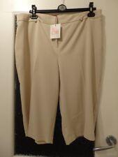 Holiday? New, Glamorosa Beige Short Trousers. Size 18