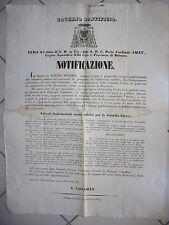 S762-STATO PONTIFICIO-BOLOGNA ORGANIZZAZIONE GUARDIA CIVICA