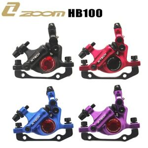 ZOOM XTECH HB100 MTB Line Pulling Hydraulic Disc Brake Calipers Front & Rear