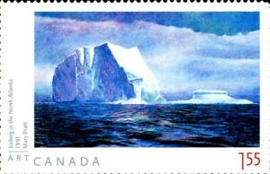 Canada Stamp #2212a - Iceberg in the North Atlantic (2007) $1.55