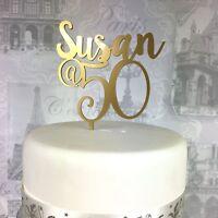 Wedding Cake Topper Acrylic Perspex Personalised Name UK Seller Guns Cute