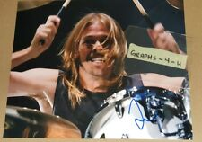 Taylor Hawkins Signed Foo Fighters Autograph COA a