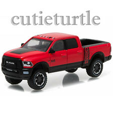 Greenlight 2017 Dodge Ram 2500 Power wagon PickUp Truck 1:64 29873 Red / Black