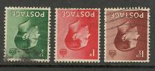Edward Viii - Definitives - Used - Inverted Watermarks