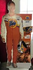 Vintage Ricky Craven Tide Racing 6 Ft Tall Cardboard Stand Up Mint L1