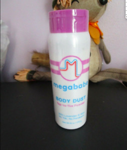 New MegaBabe Body Dust Top To Toe Powder No Sweat 6 oz New Top Rated Sealed