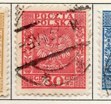 Poland 1929-38 Early Issue Fine Used 30g. 190910