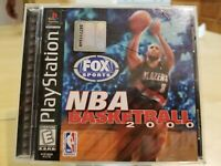 NBA Basketball 2000 (Sony PlayStation 1, PS1, 1999) Complete - Ships Free
