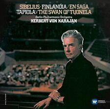 Herbert von Karajan - Sibelius Finlandia  En Saga  Tapiola  Swan of Tuonela [CD]