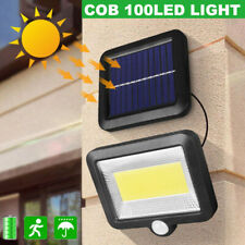 100 Led Solar Power Motion Sensor Light Security Flood Outdoor Garden Path Lamp