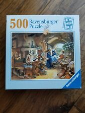 RAVENSBURGER Jigsaw Puzzle 500 Piece 18 x 24 Merlin & Arthur Complete Wizard