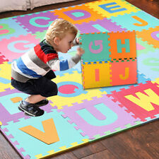 36Pc Kids Alphabet Number EVA Floor Play Mat Baby Room Jigsaw ABC foam Puzzl RS