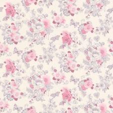 Rollos de papel pintado barrocos rosas Rasch