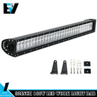 32 inch 180w Led Light Bar Spot Flood Combo Work FOR Boat UTE Truck SUV ATV 30""