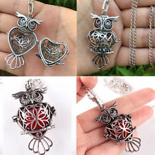 Locket Necklace Fragrance Perfume Essential Oil Aromatherapy Diffuser Pendant