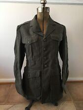 Vintage - US Marine Corps USMC Military Green Dress Uniform Coat Jacket Infantry