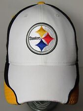 PITTSBURGH STEELERS NFL FOOTBALL AUTHENTIC SIDELINE REEBOK HAT CAP GOLD BLACK