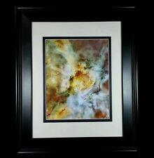 Hubble Telescope: Carina Nebula Universe Photo Wall Print (Matted & Framed NEW)