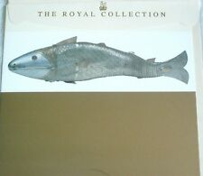 The Royal Collection By Medici - Silver casket of a Fish - Blank Greetings Card