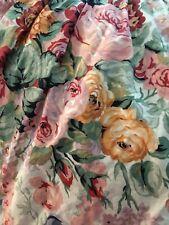 Ralph Lauren king size floral bed skirt dust ruffle ( Allison ? )