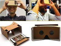 Cardboard Quality 3d VR Virtual Reality Glasses For iPHone Google Nexus Samsung