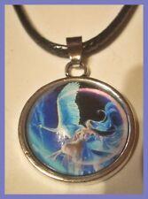 Wunderschöne Engel Schutzengel Kette Halskette + Anhänger Talisman  NEU (D825)
