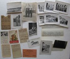 1949 Photos of U.S. Soldiers in Germany and Boy Scout Cards (found at yard sale)