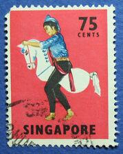 1968 SINGAPORE 75c SCOTT# 94 S.G.# 111 USED CS05582