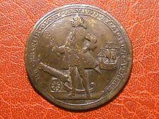 ADMIRAL VERNON took Portobello only six ships Nov. 22 1739 extremel Rare medal
