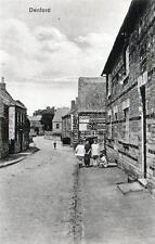 Denford Nr Thrapston unused old postcard Good cond
