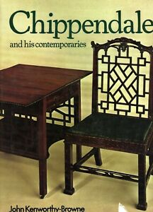 Antique Chippendale Furniture - Development Styles Makers Etc / Illustrated Book