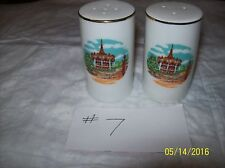 Marriotts Great Americ Salt And Pepper Shakers