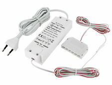 12V MINI-AMP LED Trafo Netzteil 24W 6-fach-Verteiler EURO-Stecker Transformator