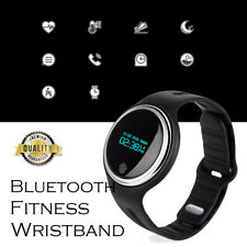 US Waterproof Bluetooth Smart Watch Monitor SPORTS Fitness Tracker Wristband E-7